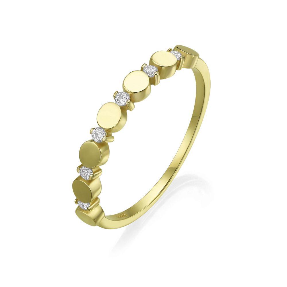 Women's Gold Jewelry | 14K Yellow Gold Ring - Carolina