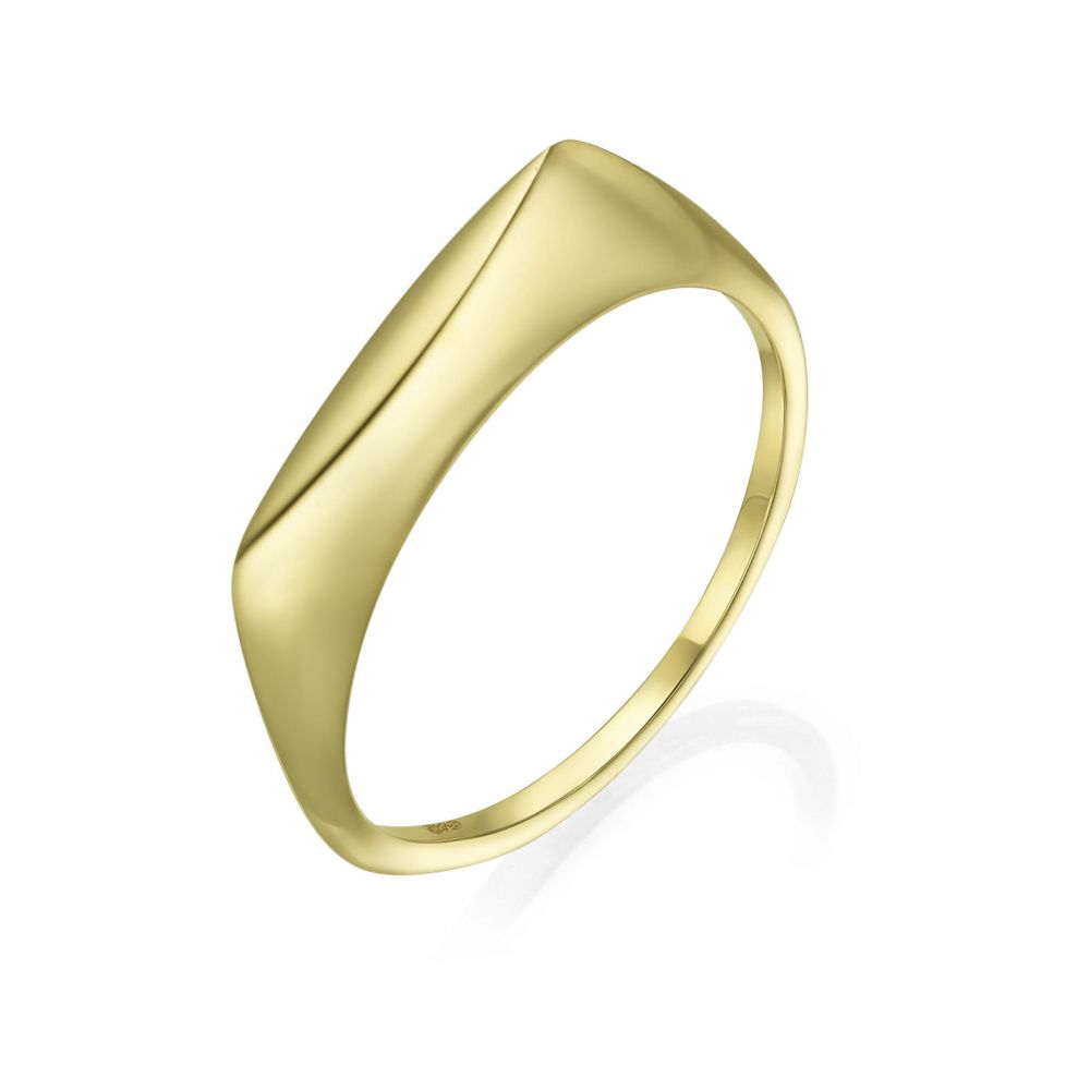 Women's Gold Jewelry | 14K Yellow Gold Ring - Monaco