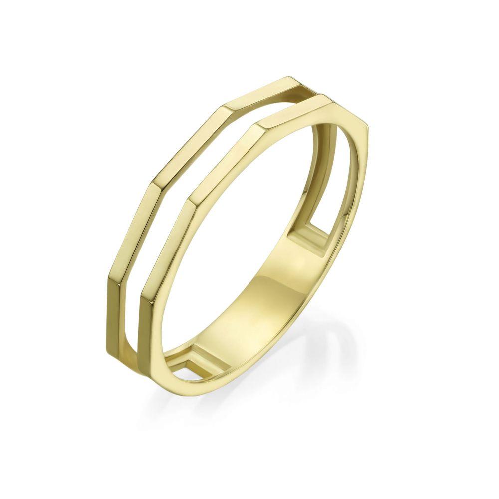 Women's Gold Jewelry | 14K Yellow Gold Ring - Milano