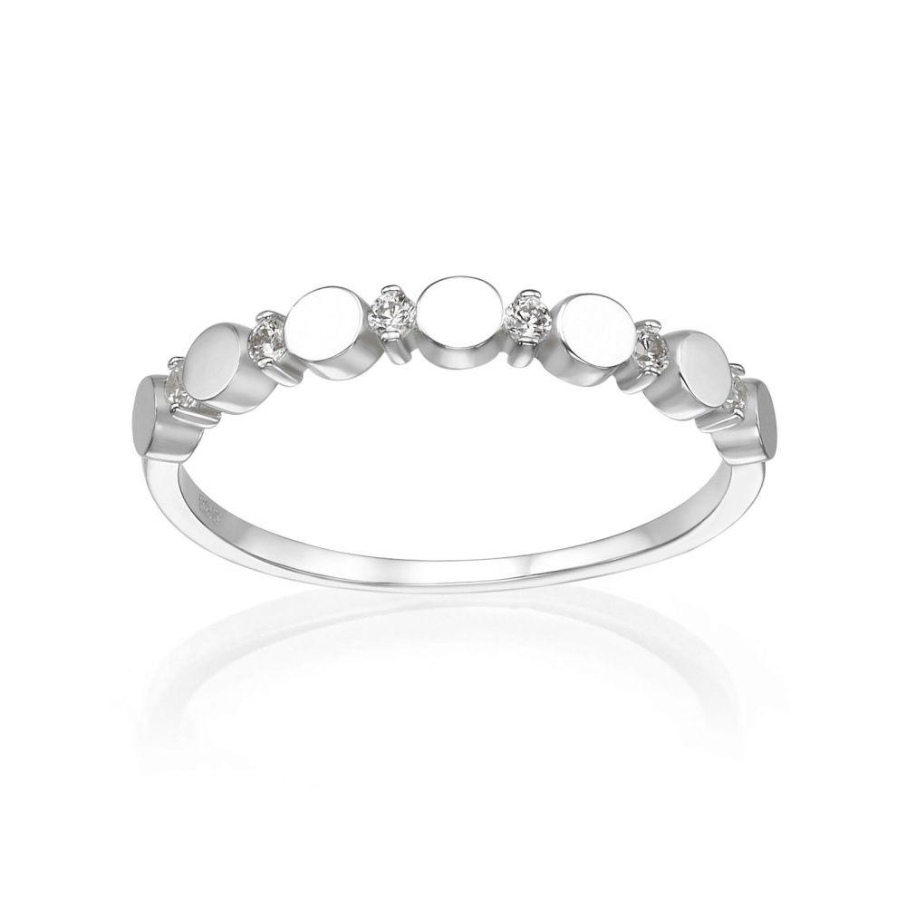 Women's Gold Jewelry   14K White Gold Ring - Carolina