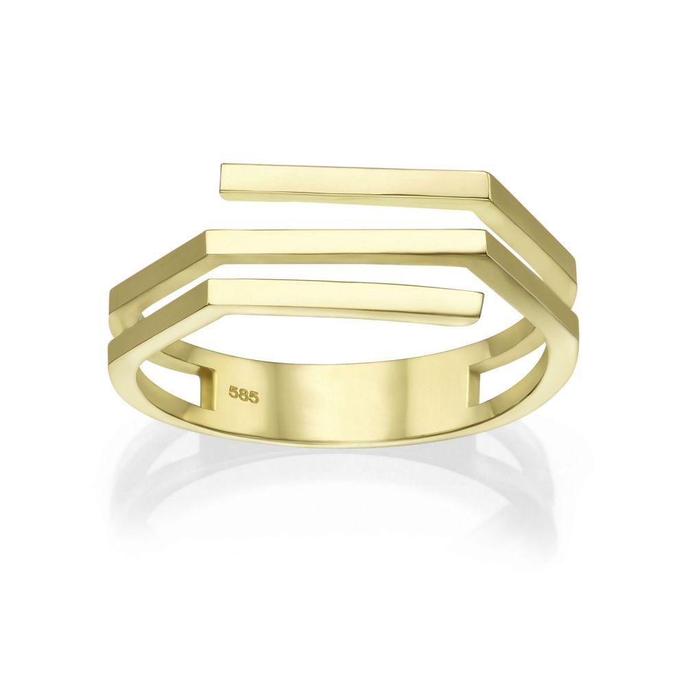 Women's Gold Jewelry | 14K Yellow Gold Ring - Aline