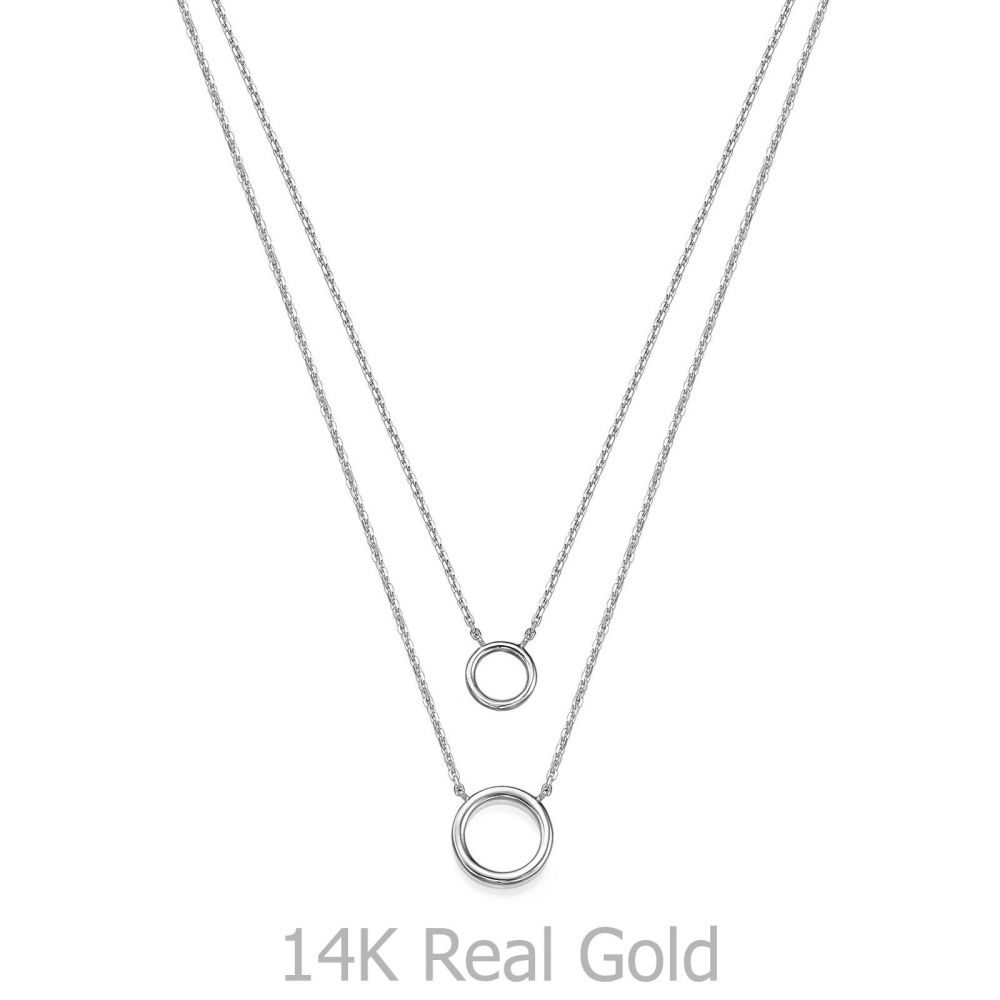 Women's Gold Jewelry | 14K White Gold Women's Pendants - Libby