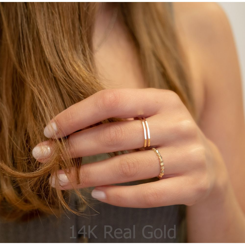 Women's Gold Jewelry | 14K Yellow Gold Ring - Cher