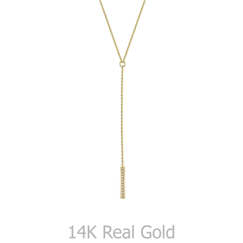 Women's Gold Jewelry | 14k Yellow gold women's pendant - Vitoria