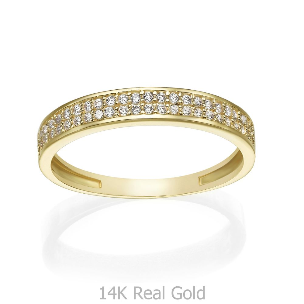 gold rings | 14K Yellow Gold Rings - Merian