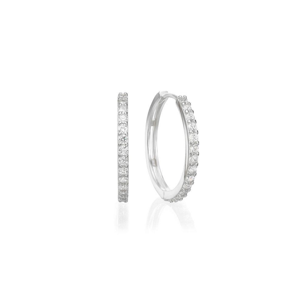Gold Earrings | Round Shape