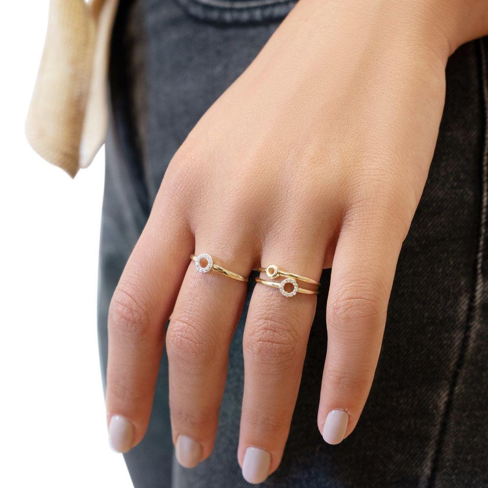 Women's Gold Jewelry | 14K Yellow Gold Rings - Tiana
