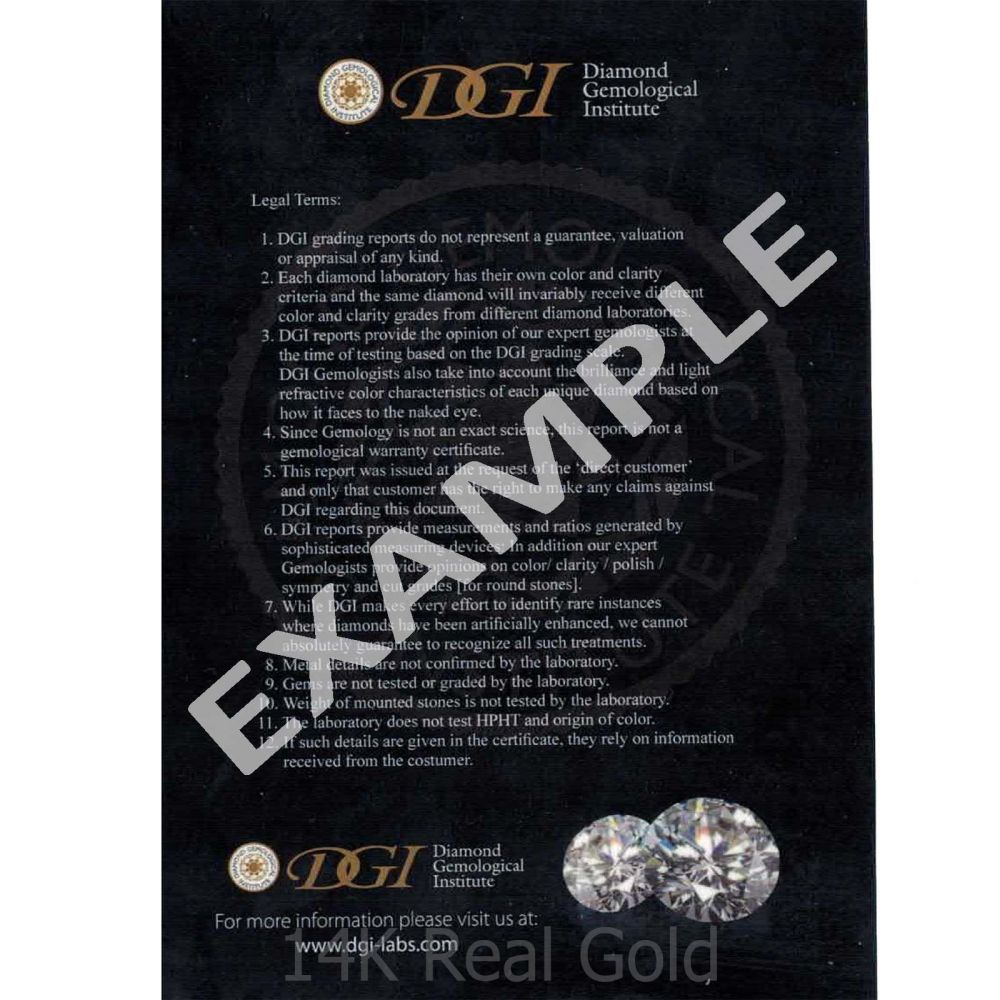 Diamond Jewelry | 14K Yellow Gold Diamond Women's Hoop Earrings - M
