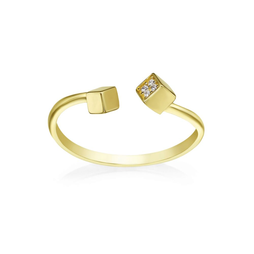 Women's Gold Jewelry | 14K Yellow Gold Rings - Florence