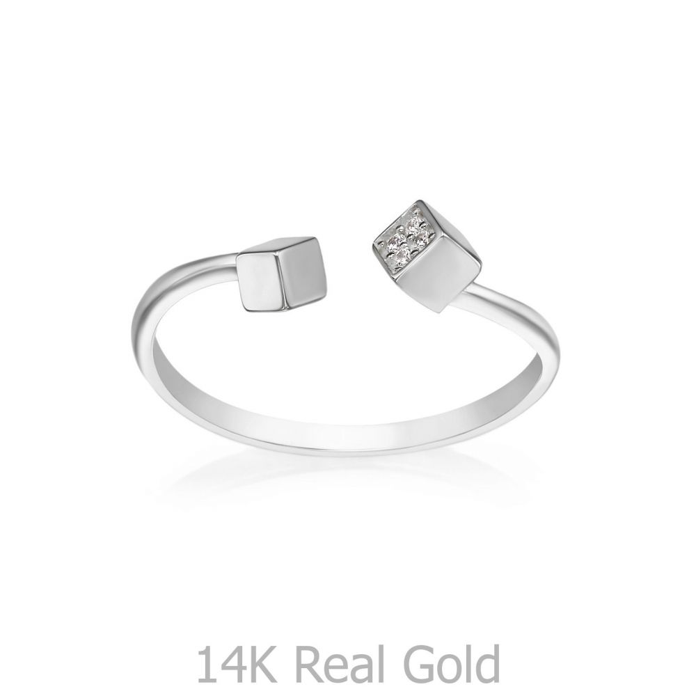 Women's Gold Jewelry | 14K White Gold Rings - Florence