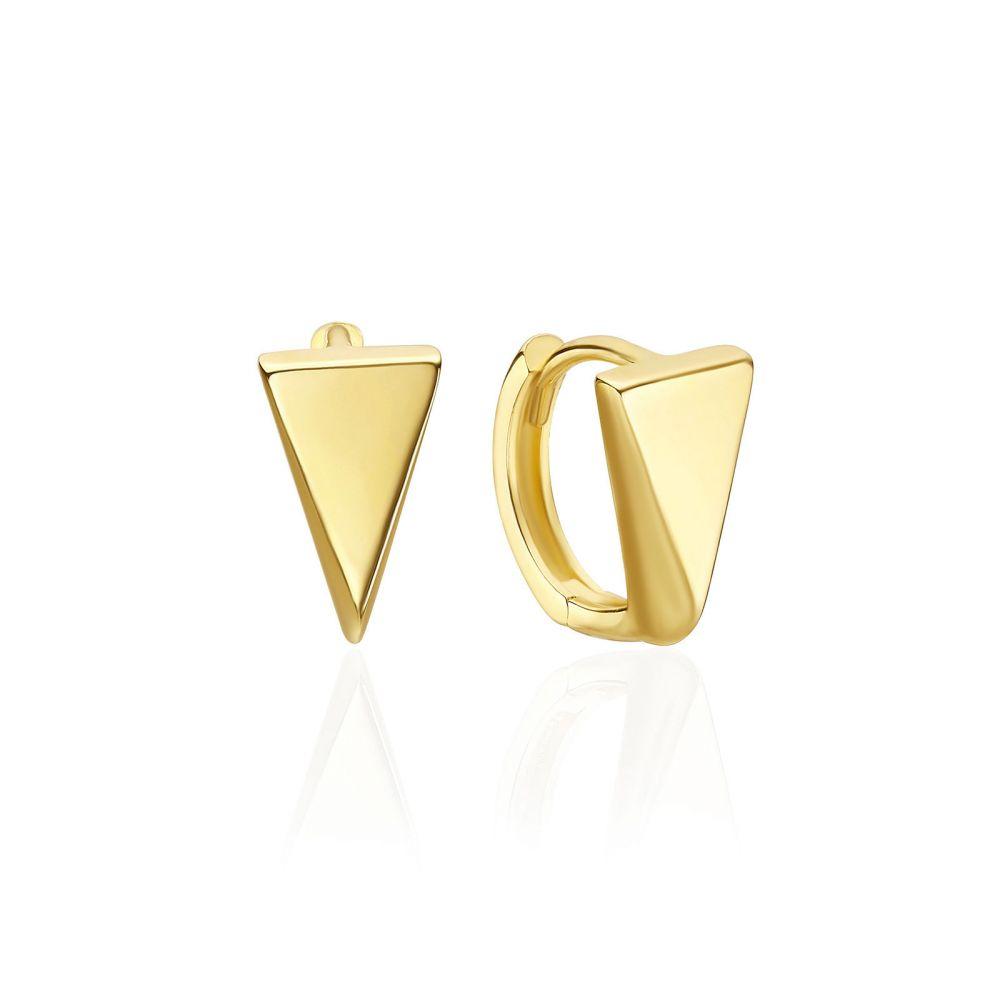 Women's Gold Jewelry | 14K Yellow Gold Women's Earrings - London