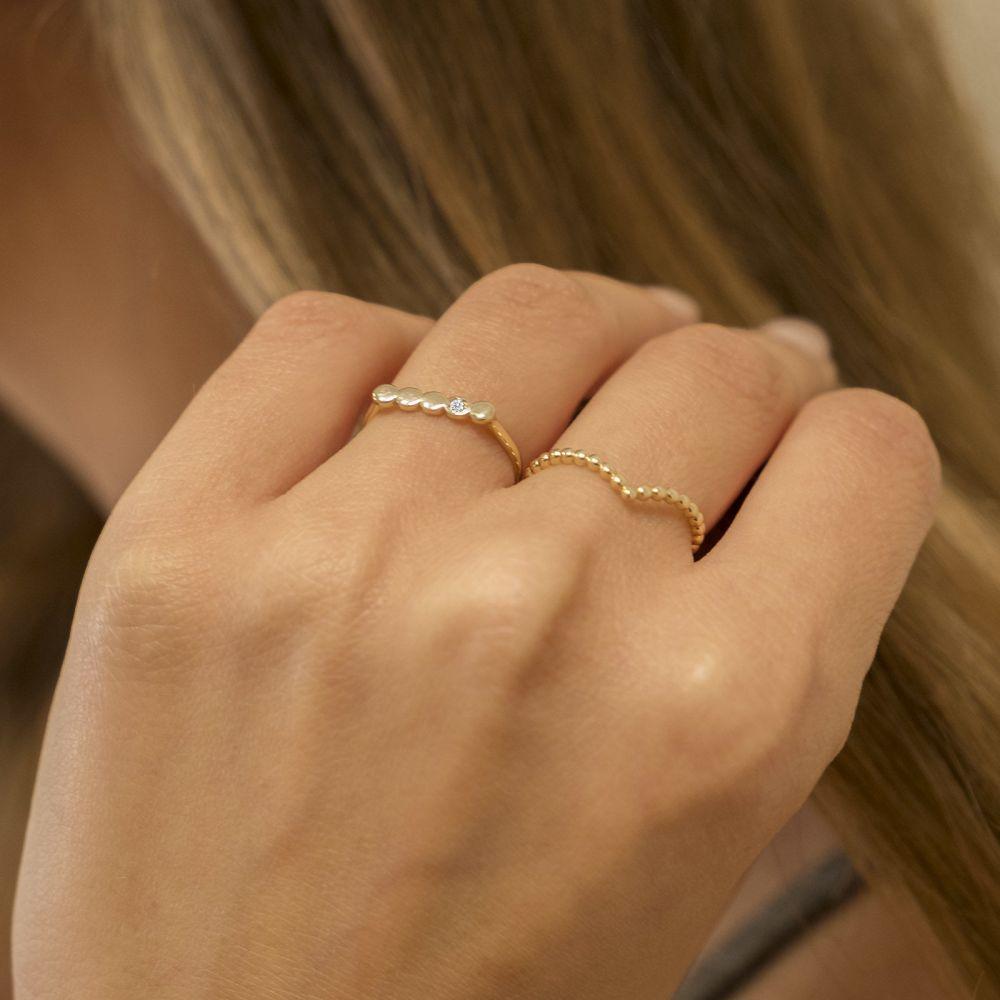 Women's Gold Jewelry   14K Yellow Gold Rings - Nicole