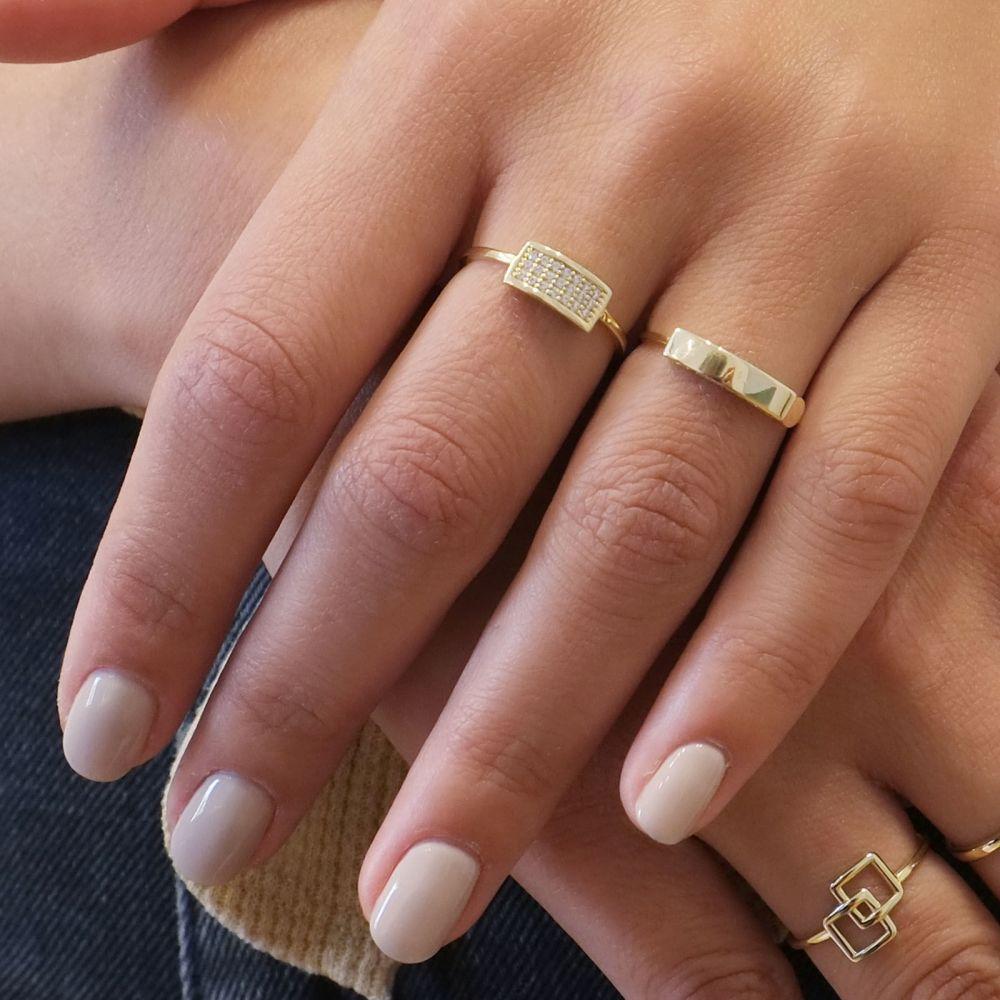 Women's Gold Jewelry   14K Yellow Gold Rings - Merlin