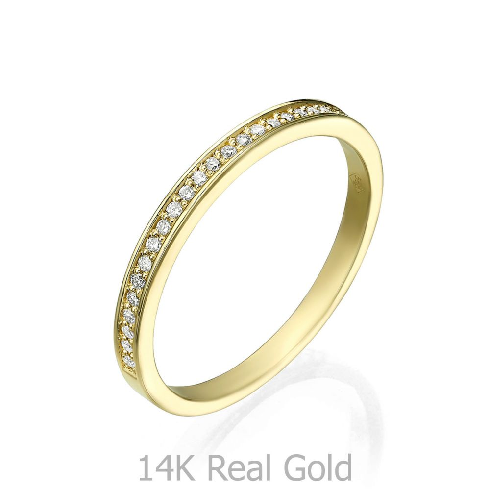 Diamond Jewelry | 14K Yellow Gold Rings - Melody