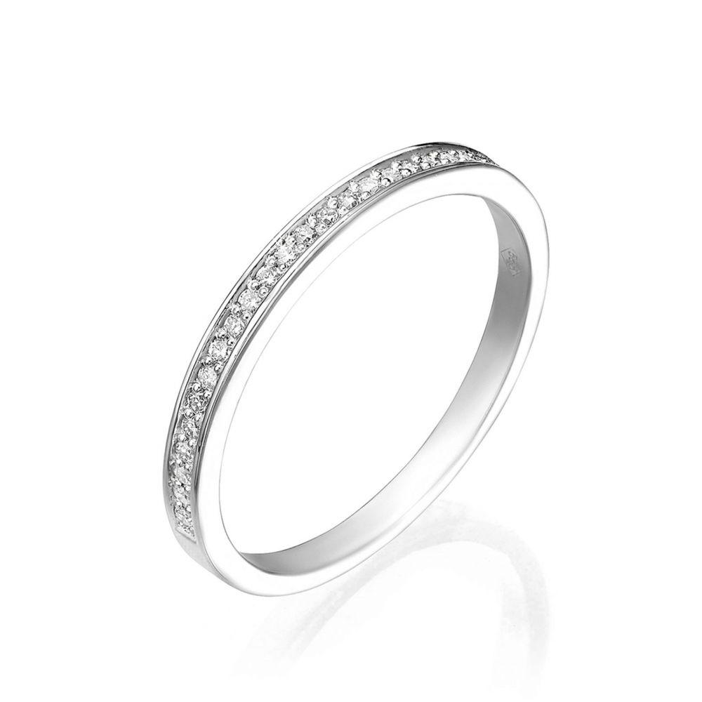 Diamond Jewelry | 14K White Gold Rings - Melody
