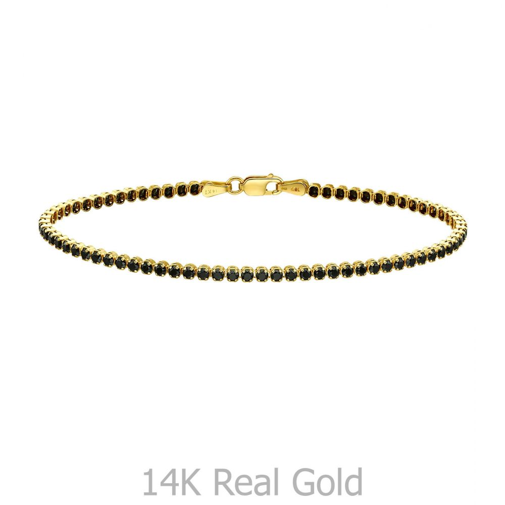 Women's Gold Jewelry | 14K Yellow  Gold Women's Bracelets - Denver