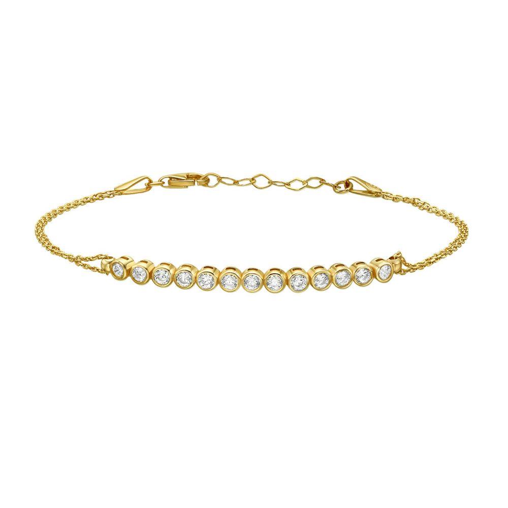 Women's Gold Jewelry | 14K Yellow  Gold Women's Bracelets - Peyton