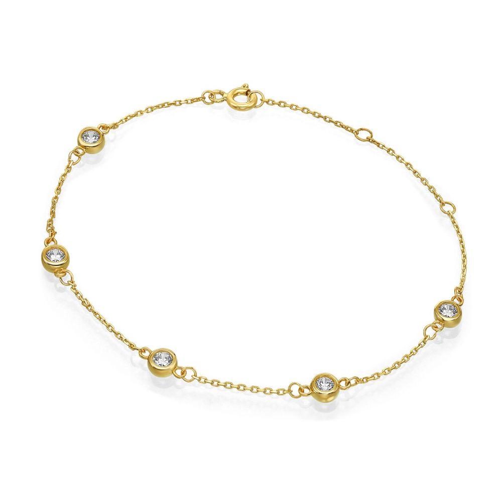 Women's Gold Jewelry | 14K Yellow  Gold Women's Bracelets - Blake