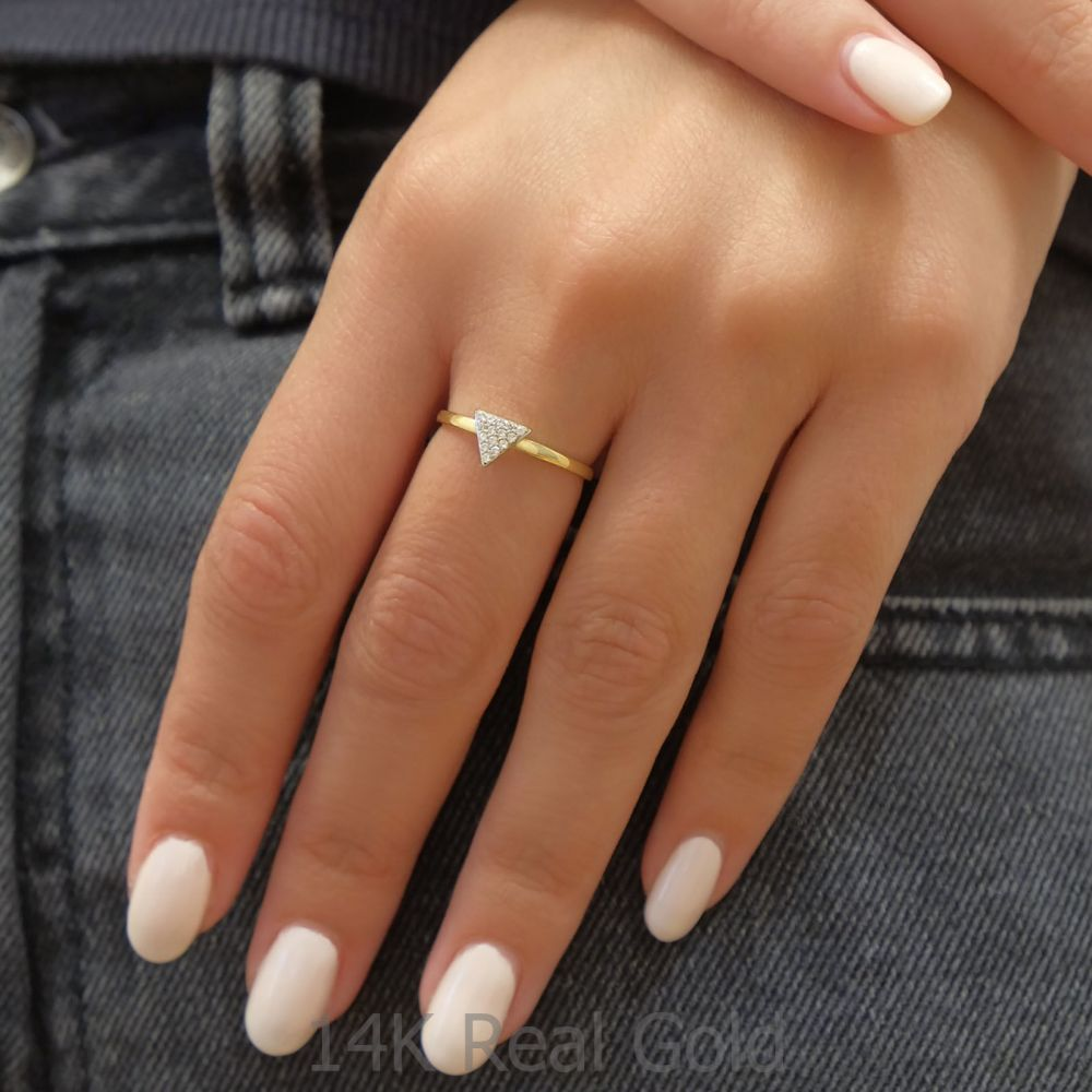 Women's Gold Jewelry | 14K Yellow Gold Rings - Toronto
