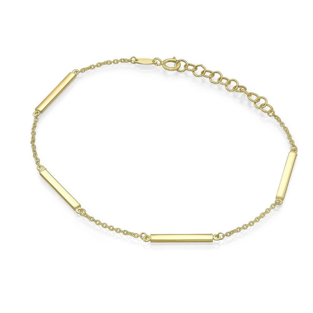 Women's Gold Jewelry | 14K Yellow Gold  Bracelet - Rainbow