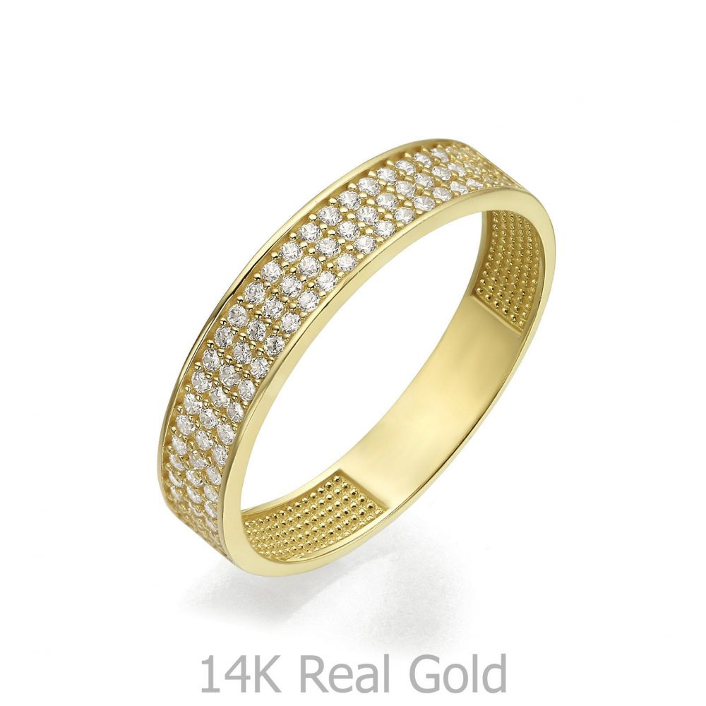 Women's Gold Jewelry | 14K Yellow Gold Ring - Claire