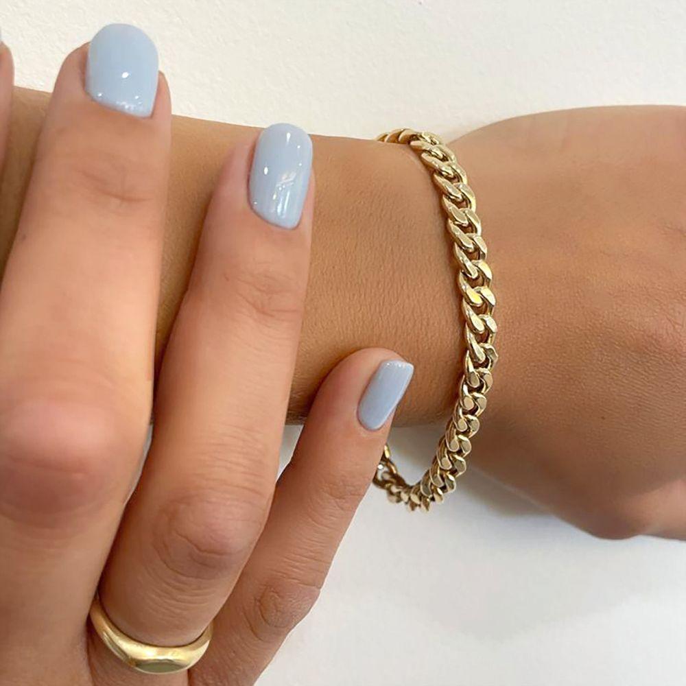 Women's Gold Jewelry | 14K Yellow Gold Women's Bracelets - links