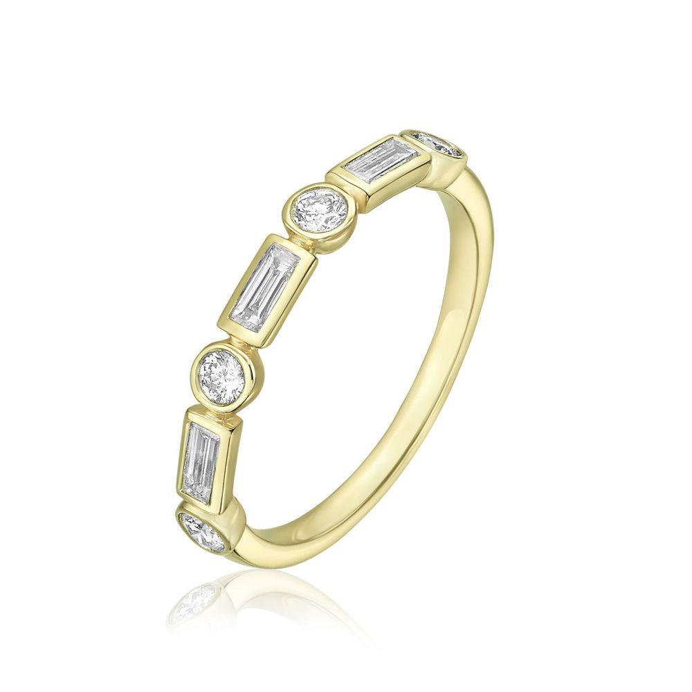 Diamond Jewelry | 14K Yellow Gold Diamond Ring - Renee