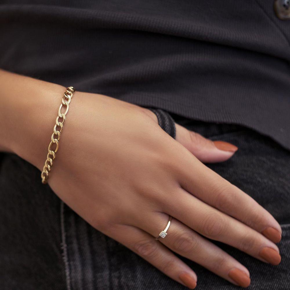Diamond Jewelry   14K White Gold Diamond Ring - Kaya