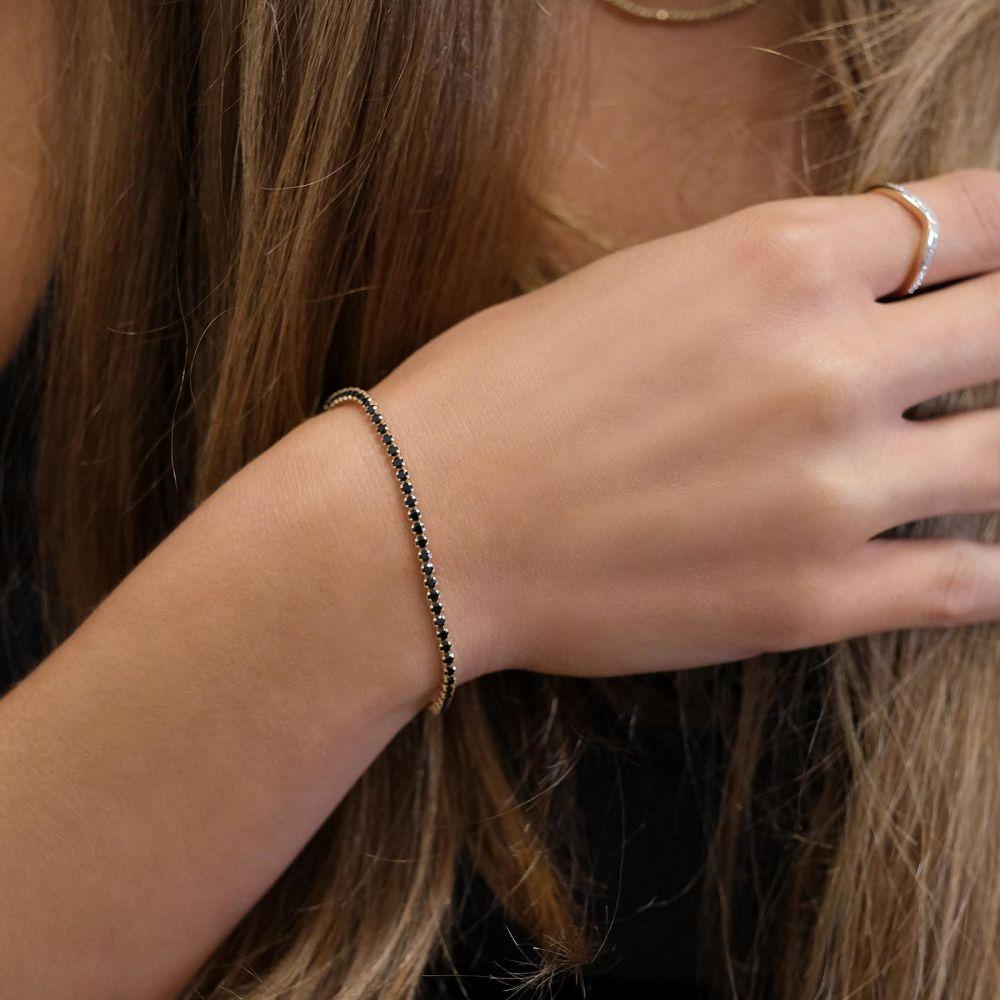 Women's Gold Jewelry   14K Yellow  Gold Women's Bracelets - Denver