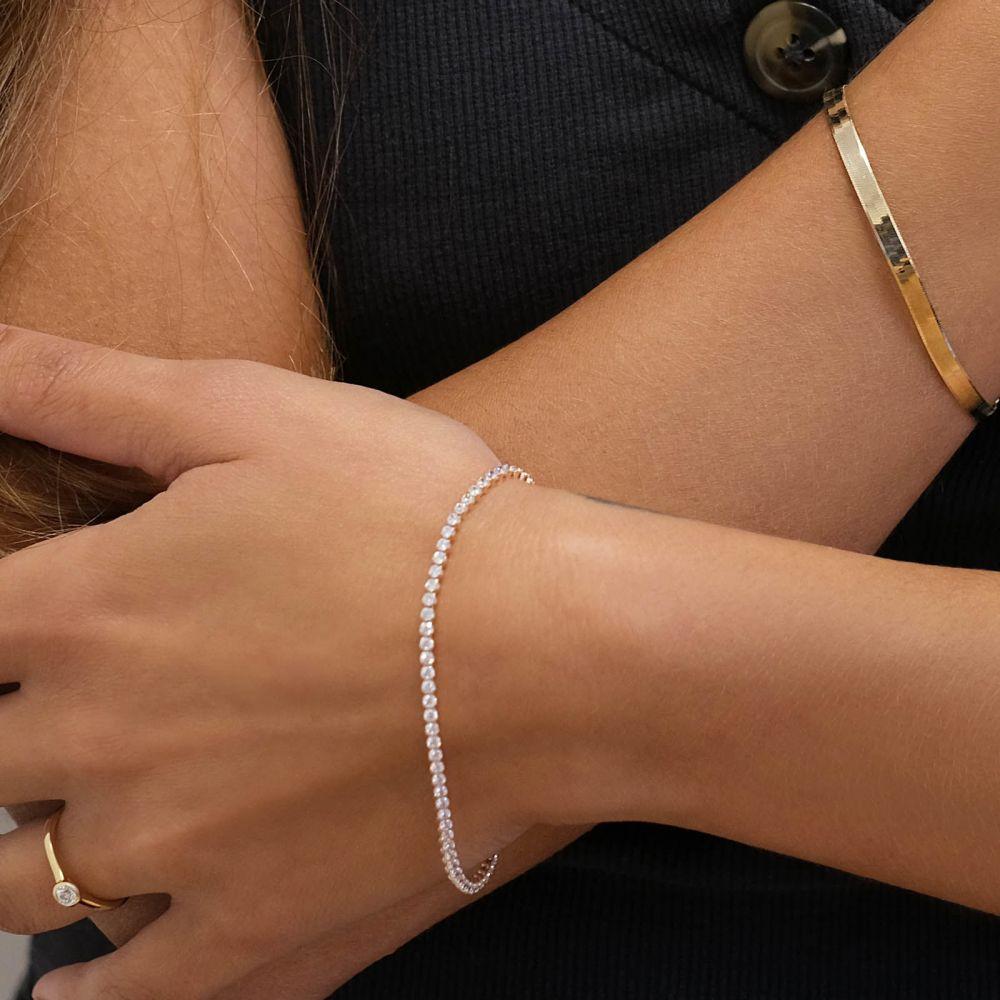 Women's Gold Jewelry | 14K Yellow  Gold Women's Bracelets - Denver