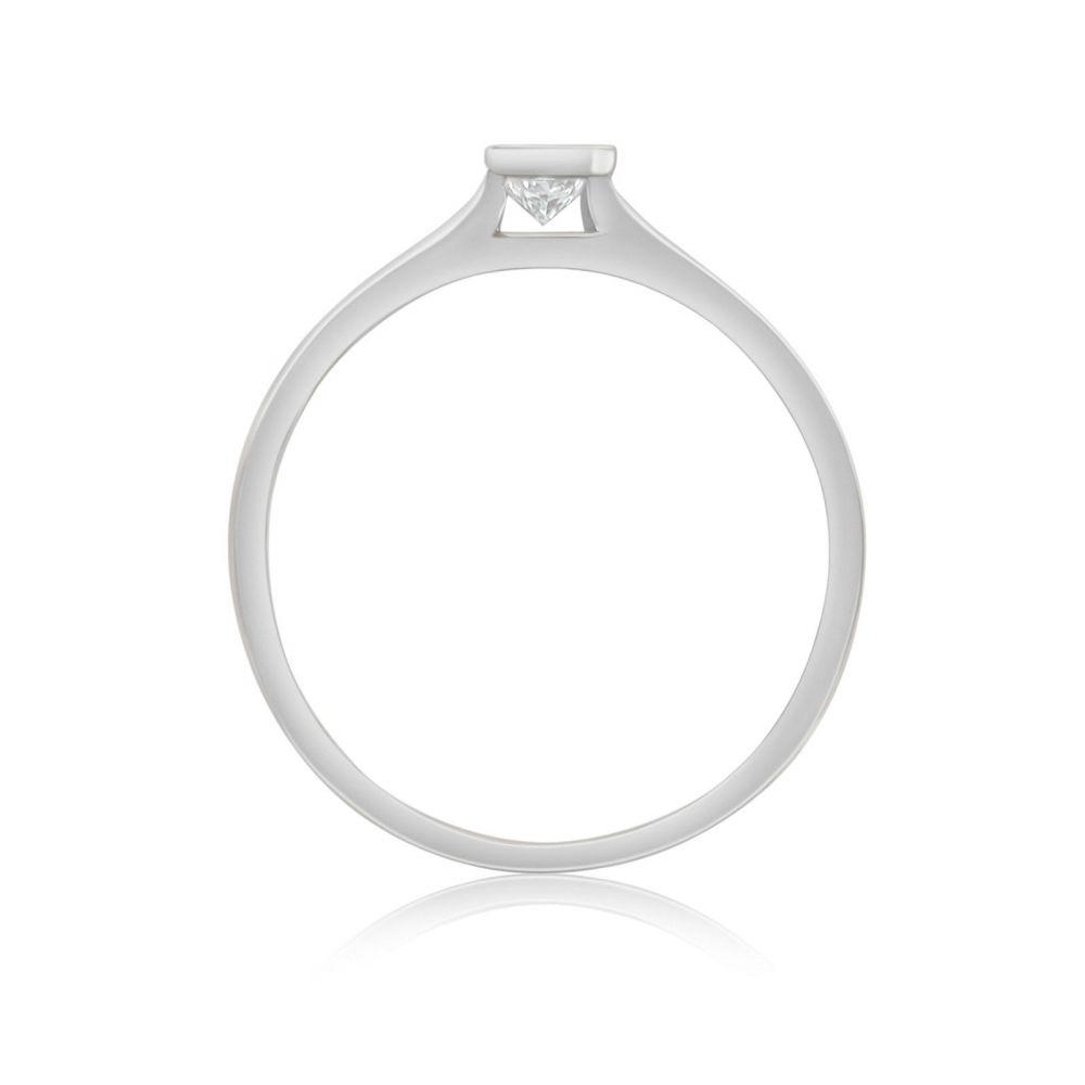 Diamond Jewelry | 14K White Gold Diamond Ring - Skyy