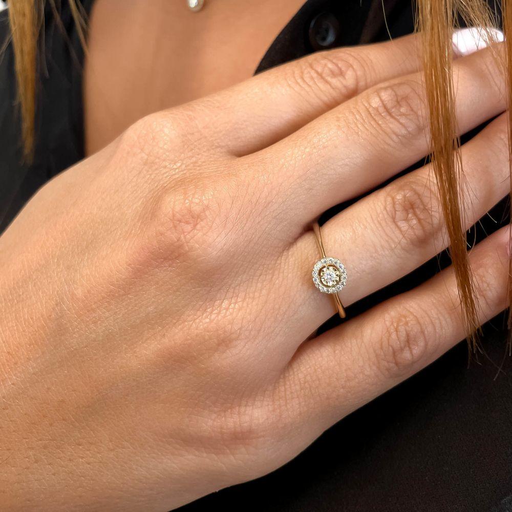 Diamond Jewelry   14K Yellow Gold Rings - Harley