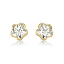 Gold Stud Earrings -  Night Star