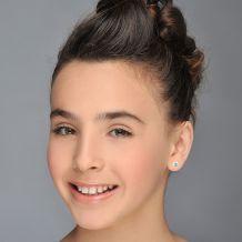 Gold Stud Earrings -  Shooting Star