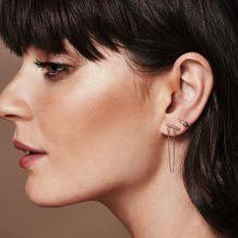 Stud Earrings in 14K Yellow Gold - Adele