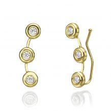 Climbing Earrings in 14K Yellow Gold - Tucana