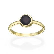 14K Yellow Gold Rings - Neptune