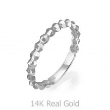 14K White Gold Ring - Cher
