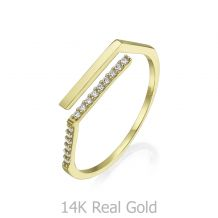 14K Yellow Gold Rings - Freyja