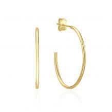 14K Yellow Gold Women's Earrings - Rio