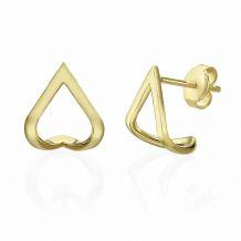 14K Yellow Gold Earrings - Lagoon