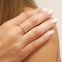 14K Yellow Gold Rings - Ethel