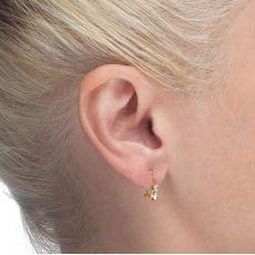 Earrings - Triple Love Heart
