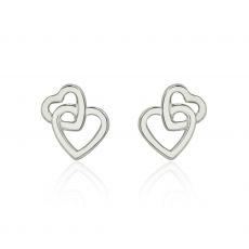 Gold Stud Earrings -  United Hearts