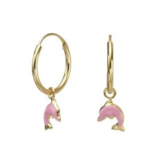 Earrings - Dolphin Leap