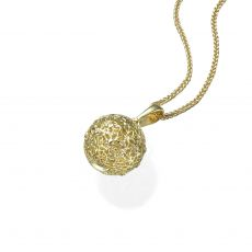 Gold Pendant - Golden Globe