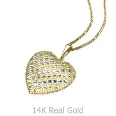 Gold Pendant - Belle's Heart