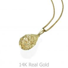 Gold Pendant - Golden Drop