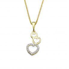 Gold Pendant - Heart of Alma