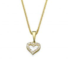 Gold Pendant - Heart of Splendor